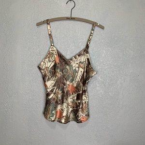 Cabela's 100% silk feminine camo style camisole